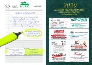 INVITO BRINDISI DI AUGURI E RITIRO AGENDA 2020